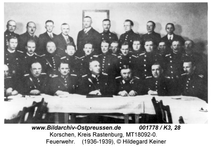 Korschen, Feuerwehr