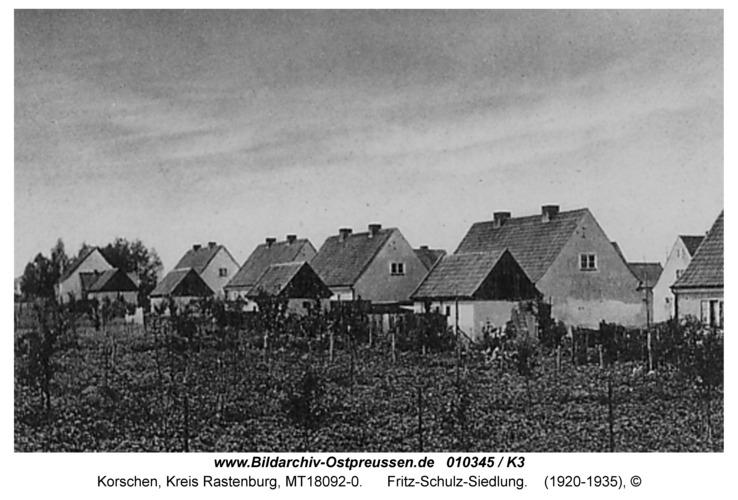 Korschen, Fritz-Schulz-Siedlung