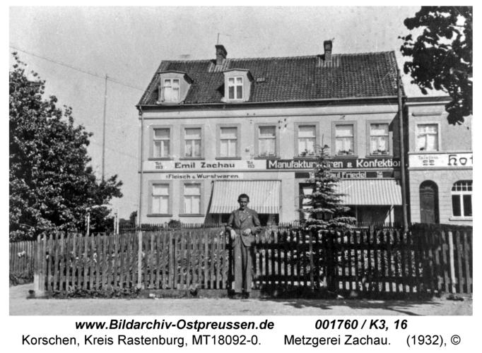 Korschen, Metzgerei Zachau
