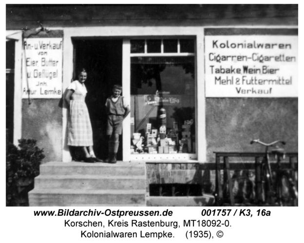Korschen, Kolonialwaren Lempke