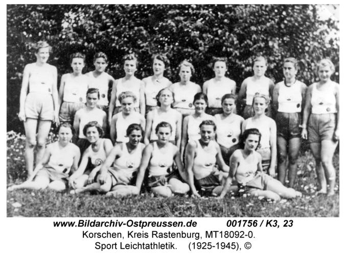 Korschen, Sport Leichtathletik