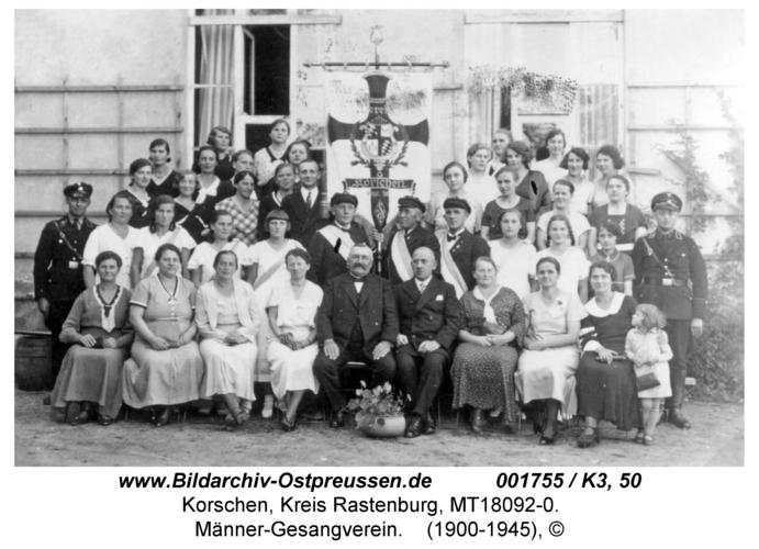 Korschen, Männer-Gesangverein