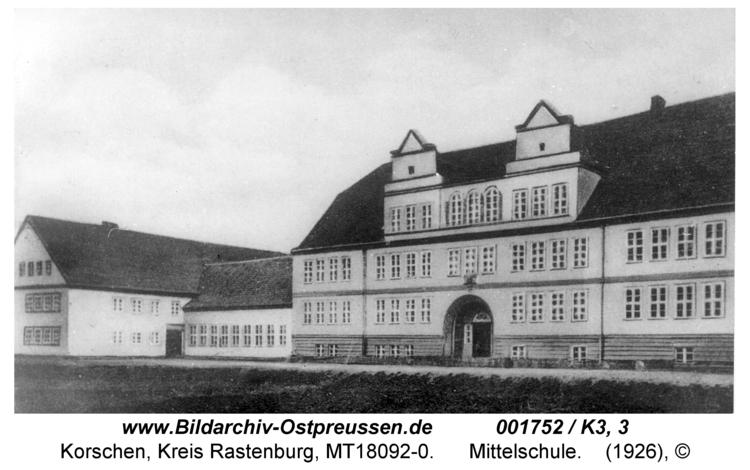 Korschen, Mittelschule