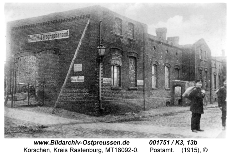 Korschen, Postamt