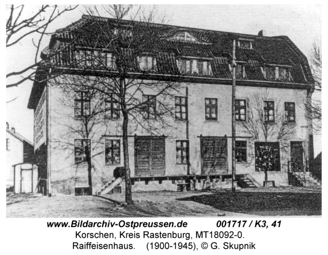 Korschen, Raiffeisenhaus