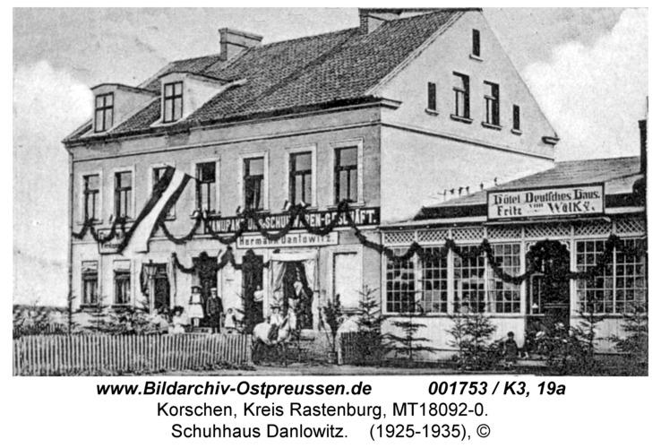 Korschen, Schuhhaus Danlowitz