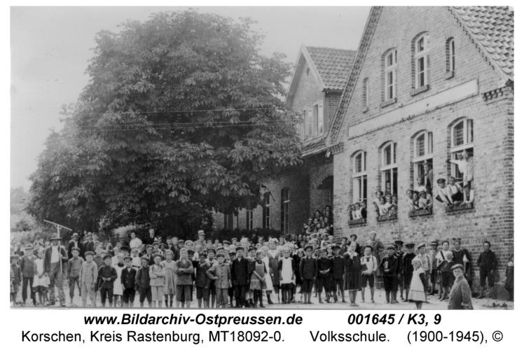 Korschen, Volksschule