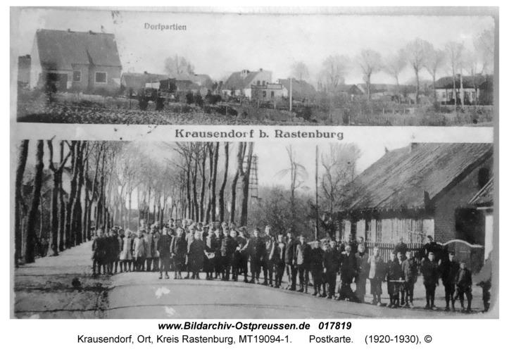 Krausendorf, Postkarte