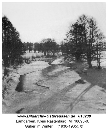 Lamgarben, Guber im Winter