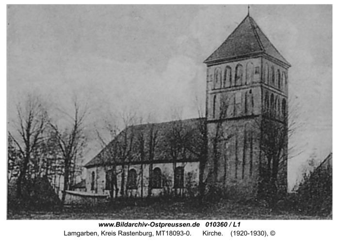 Lamgarben, Kirche
