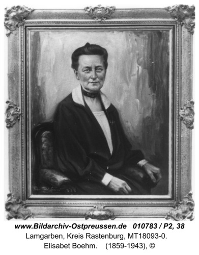 Lamgarben, Elisabet Boehm