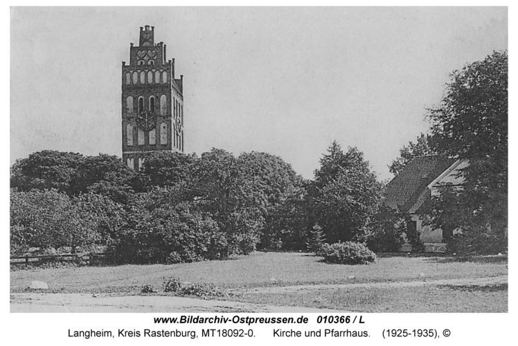 Langheim, Kirche und Pfarrhaus