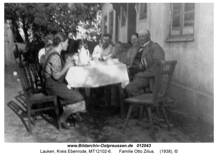 Lauken, Familie Otto Zilius