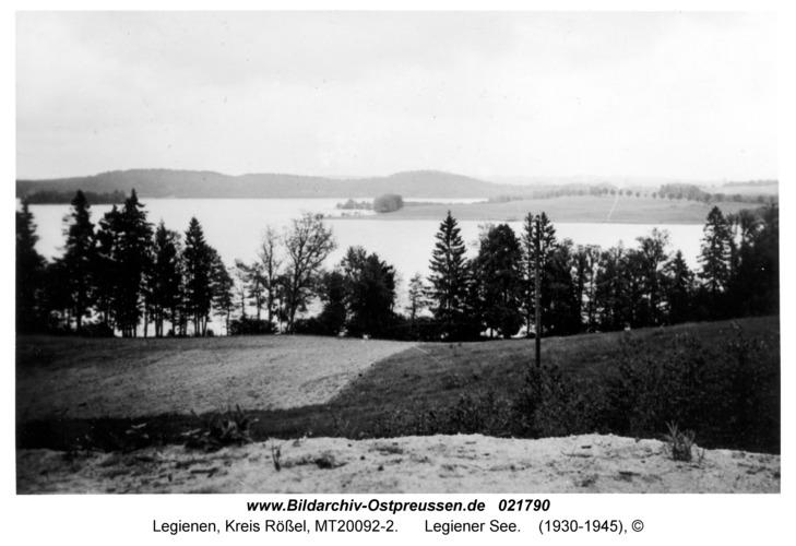 Legienen Kr. Rößel, Legiener See