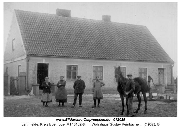 Lehmfelde, Wohnhaus Gustav Reinbacher