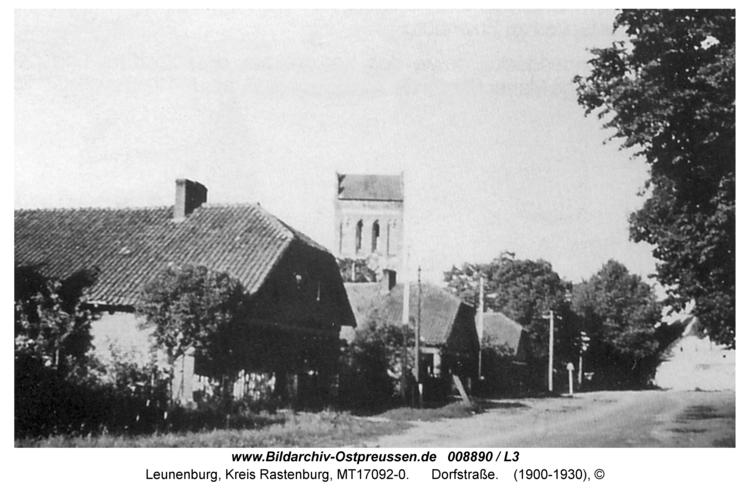 Leunenburg, Dorfstraße