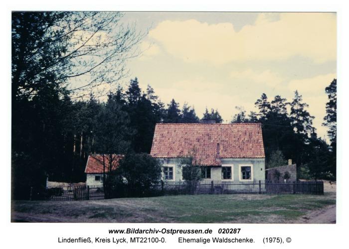 Lindenfließ, ehemalige Waldschenke