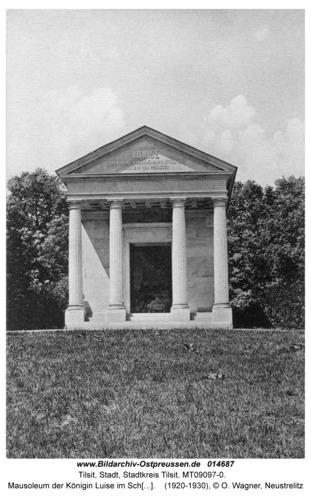 Berlin-Charlottenburg, Mausoleum der Königin Luise im Schlosspark Berlin-Charlottenburg