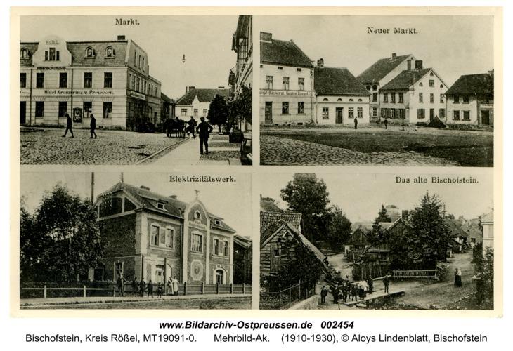 Bischofstein, Mehrbild-Ak
