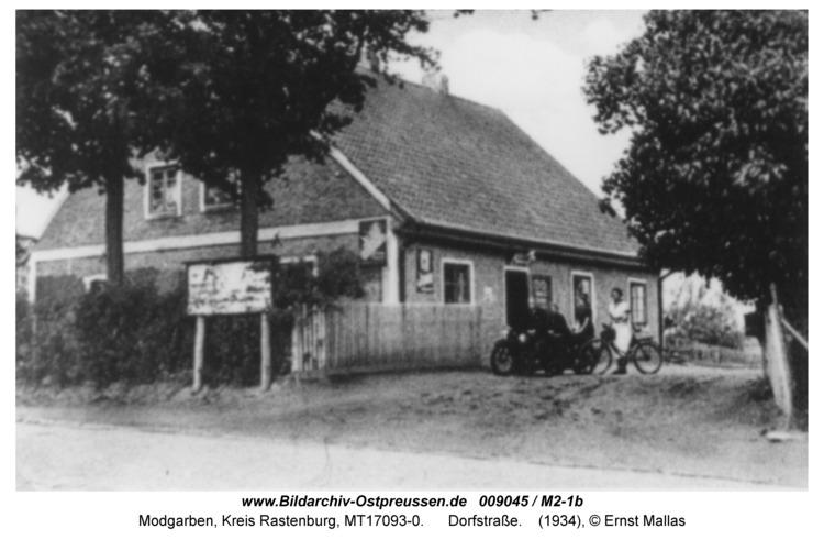 Modgarben, Dorfstraße