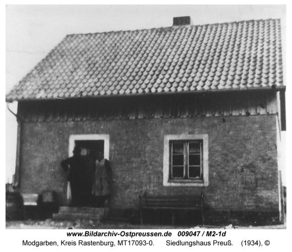 Modgarben, Siedlungshaus Preuß