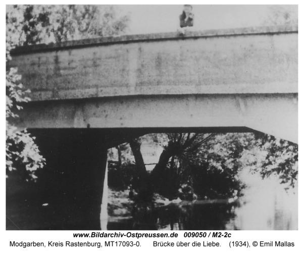 Modgarben, Brücke über die Liebe