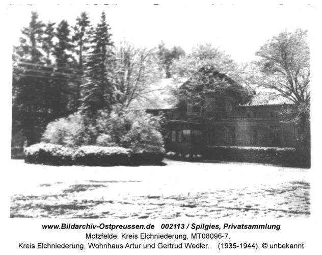 Motzfelde (fr. Motzwethen), Kreis Elchniederung, Wohnhaus Artur und Gertrud Wedler