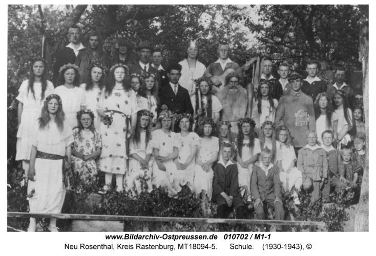 Neu Rosenthal, Schule