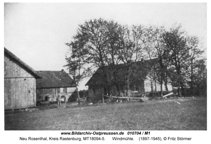 Neu Rosenthal, Mühlenhof