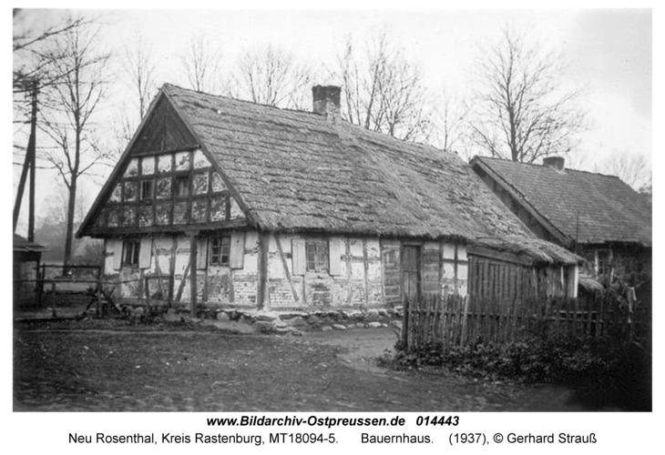 Neu Rosenthal, Bauernhaus