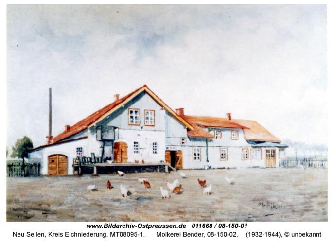 Neu Sellen, Molkerei Bender, 08-150-02