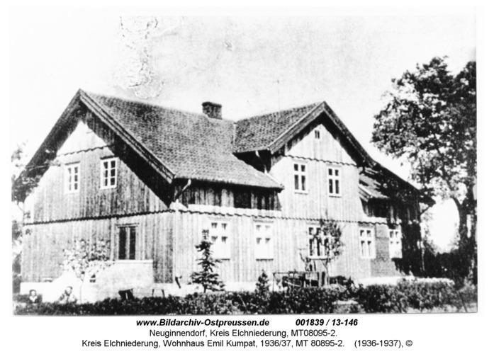 Neuginnendorf, Kreis Elchniederung, Wohnhaus Emil Kumpat, 1936/37, MT 08095-2