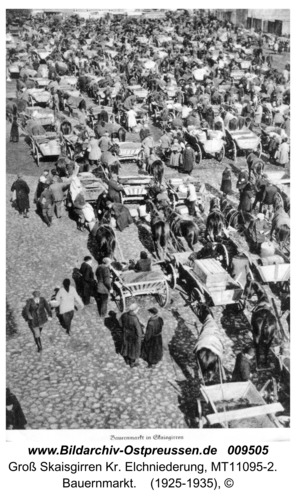Kreuzingen. Bauernmarkt in Skaisgirren