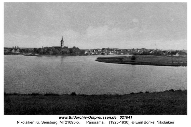 Nikolaiken, Panorama