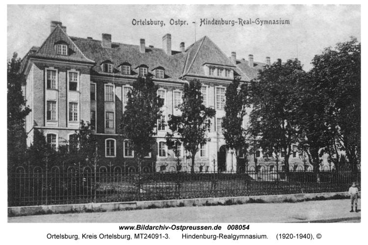 Ortelsburg, Hindenburg-Realgymnasium