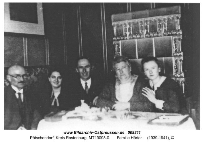 Pötschendorf, Familie Härter