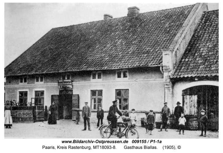 Paaris, Gasthaus Biallas