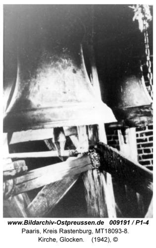 Paaris, Kirche, Glocken