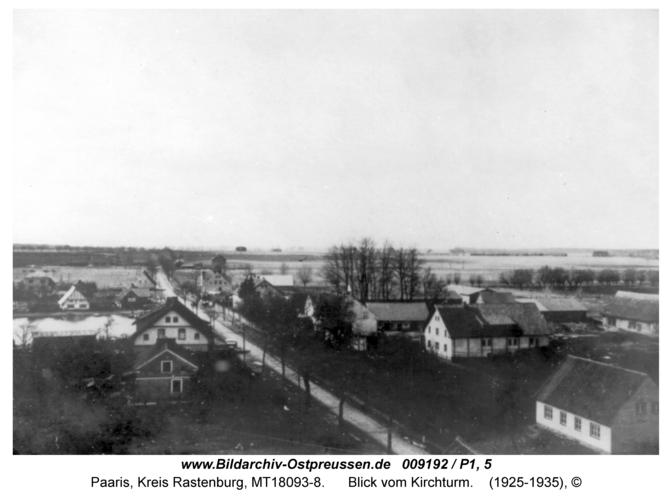 Paaris, Blick vom Kirchturm