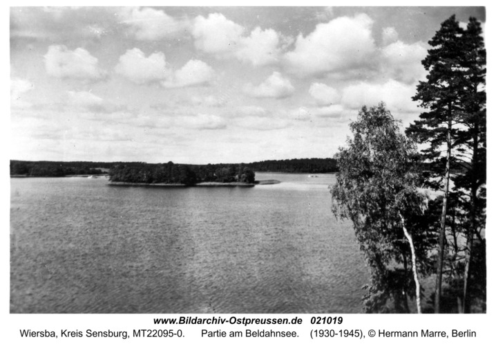 Wiersba, Partie am Beldahnsee