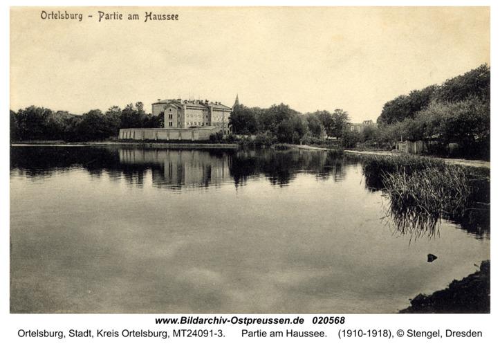 Ortelsburg, Partie am Haussee