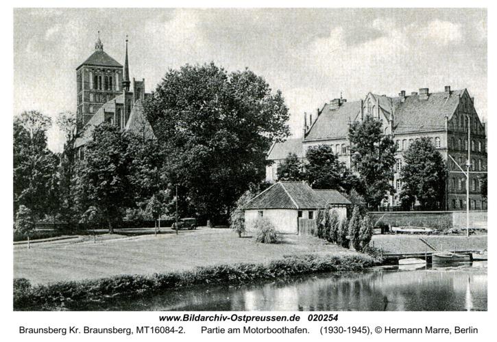 Braunsberg, Partie am Motorboothafen