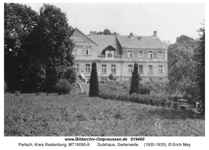 Partsch, Gutshaus, Gartenseite