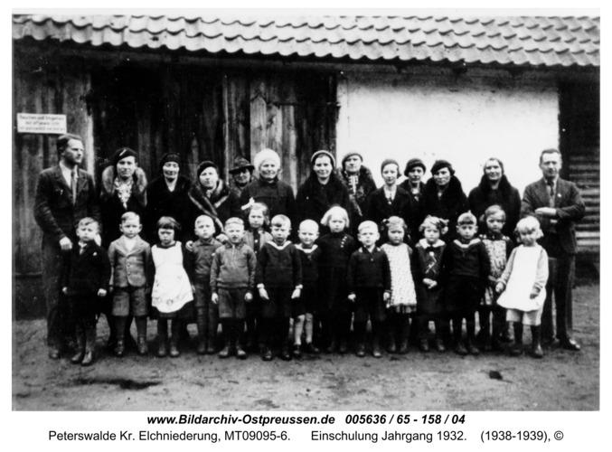 Peterswalde, Einschulung Jahrgang 1932