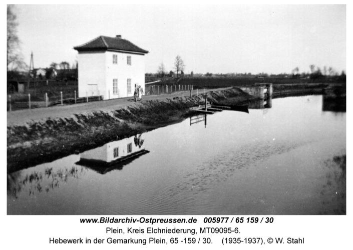Plein, Hebewerk in der Gemarkung Plein, 65 -159 / 30