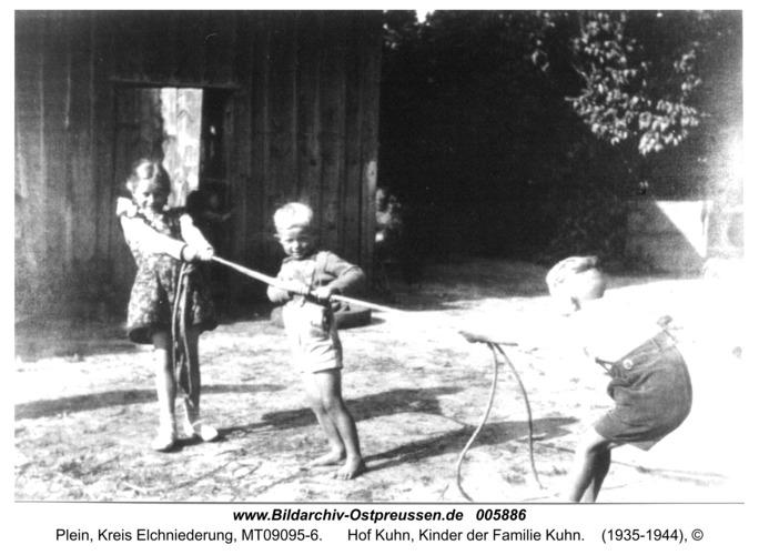 Plein, Hof Kuhn, Kinder der Familie Kuhn