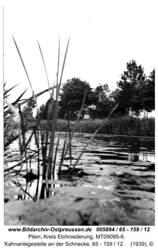 Plein, Kahnanlegestelle an der Schnecke, 65 - 159 / 12