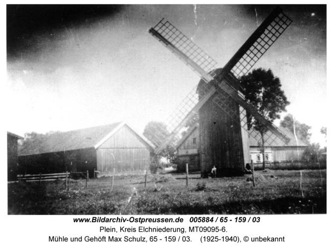 Plein, Mühle und Gehöft Max Schulz, 65 - 159 / 03