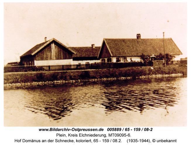 Plein, Hof Domänus an der Schnecke, koloriert, 65 - 159 / 08.2