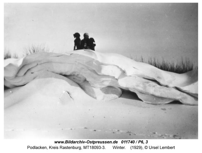 Podlacken, Winter